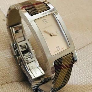 Burberry Accessories - Authentic Burberry Nova plaid wrist watch